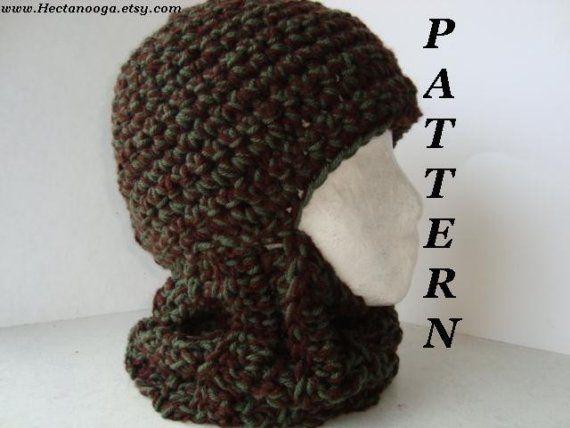 Crochet Patternmber 26 Balaclava Adult Size Chunky