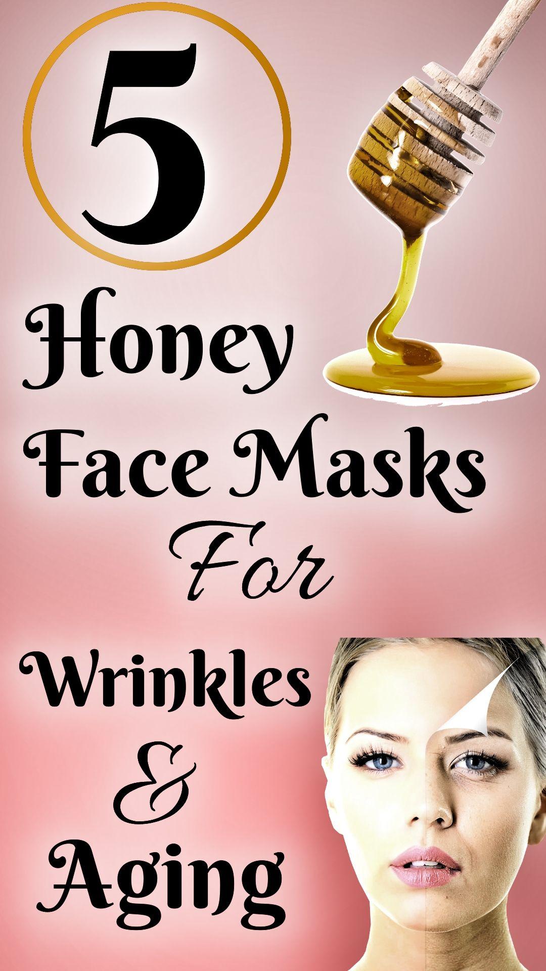 5 homemade honey face masks for wrinkles and aging honey