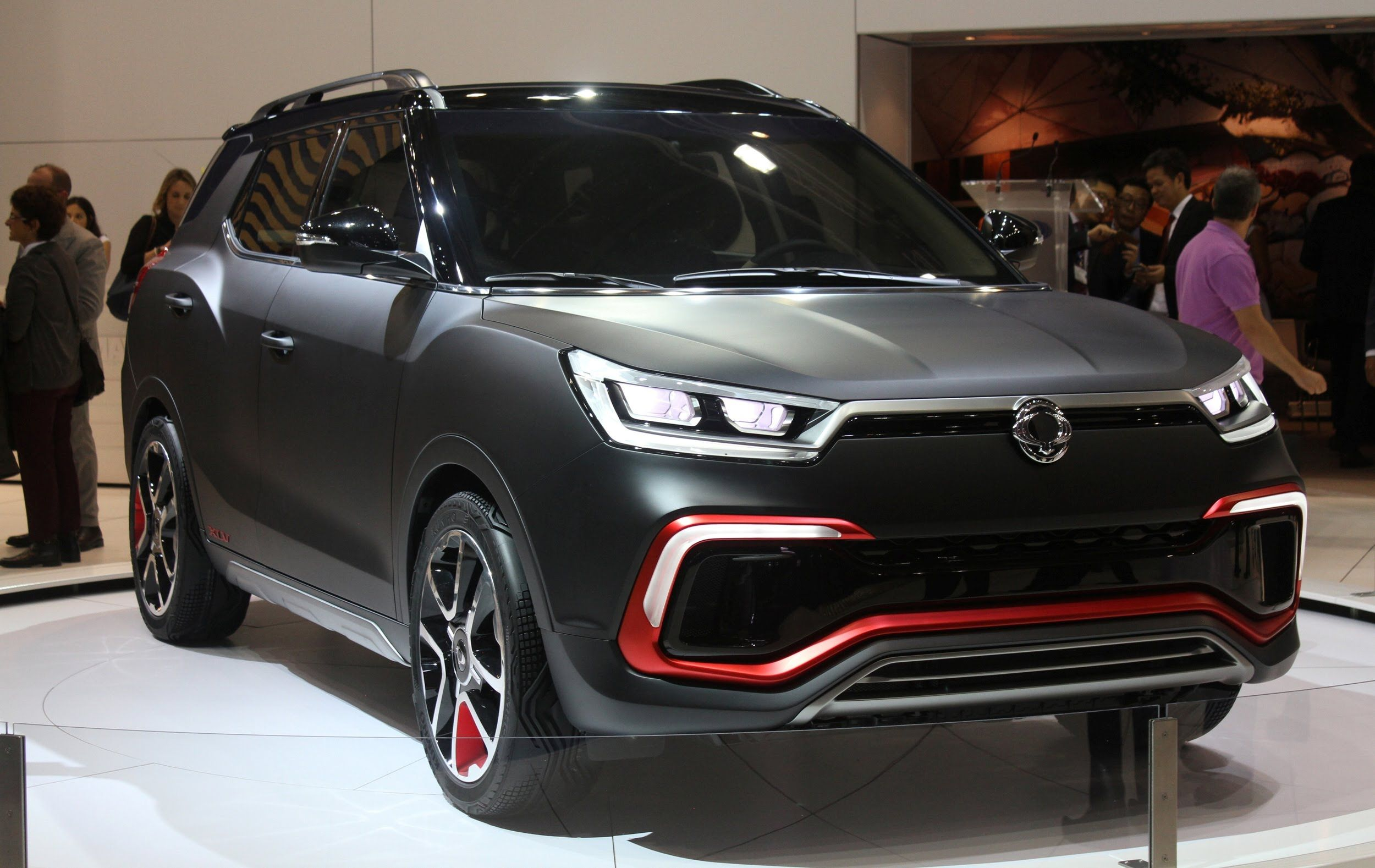 Ssangyong Xlv Air Concept 2015 Frankfurt Motor Show Motor Frankfurt Suv Car