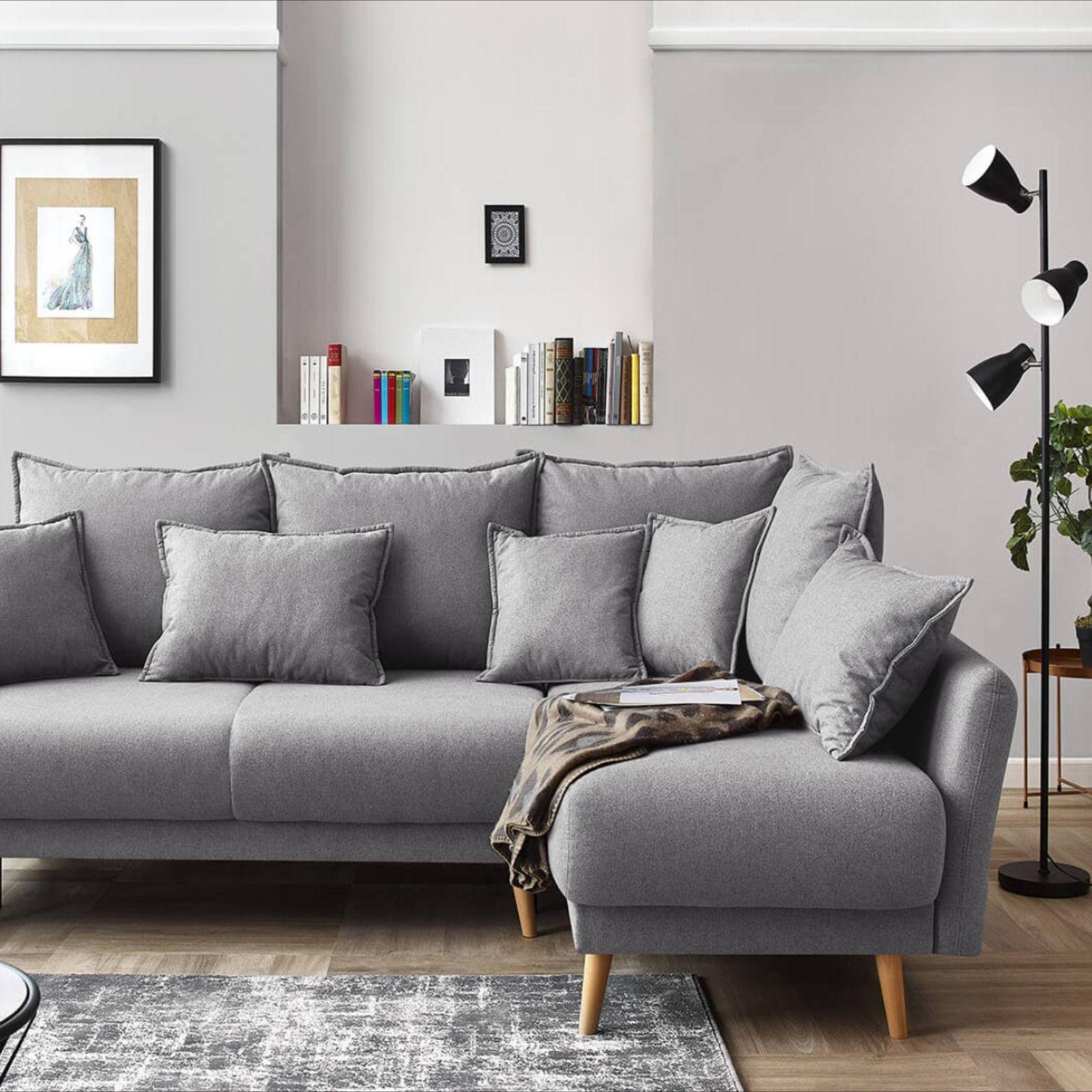 Canape D Angle Convertible Mia Bobochic In 2020 Home Decor