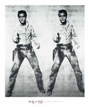 Andy Warhol - Elvis, 1963
