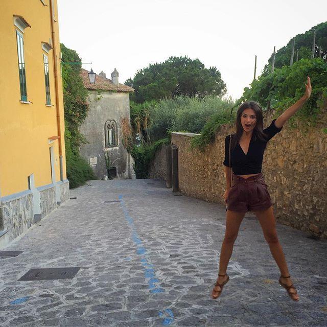 """Jumping for joy in Italia! #ppandemeatpasta2015"" Photo taken by @emrata on Instagram, pinned via the InstaPin iOS App! http://www.instapinapp.com (07/11/2015)"