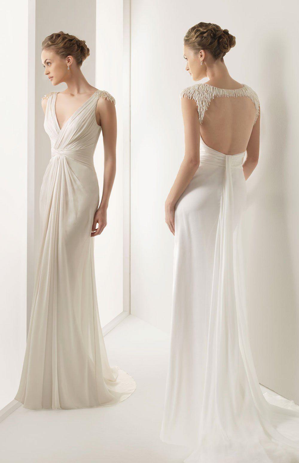 4a6b5488a1 Mayor selección de vestidos de novia con espalda descubierta ...