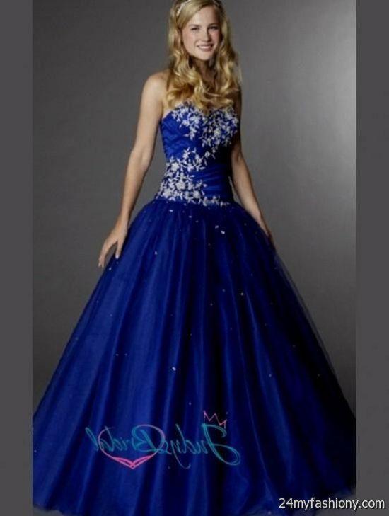 Cinderella Blue Ball Gown 2016 2017 B2b Fashion