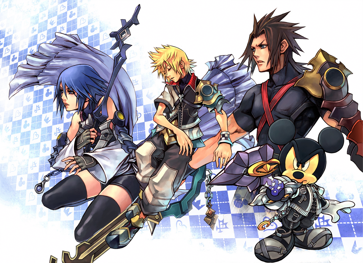Kingdom Hearts BBS: Aqua, Ventus, Terra, and Mickey. | Kingdom ...