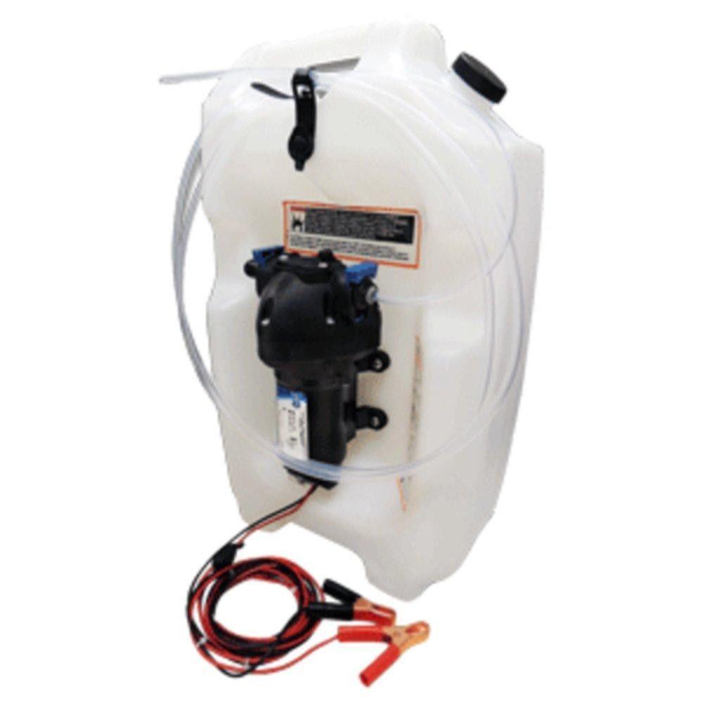 Jabsco Flat Tank Oil Changer System 3 1 2 Gallon Tank 12v Tank Gallon Oil Change