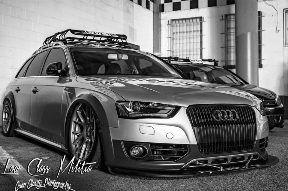 The Grocery Getter B8 5 Allroad Build Bagged And Tuned Audi Allroad Audi Wagon Audi A6 Allroad