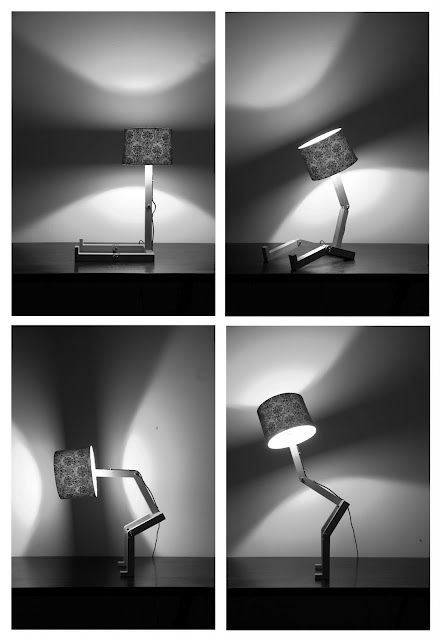 Sitting Lamp by Greame Bettles