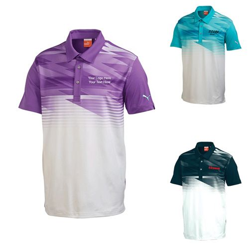 "Custom Printed Men's Golf Indigital Short Sleeve Polo Shirts: Available Colors: Black, Blue Bird, Deep Lavendar. Product Size: S, M, L, XL, 2XL, 3XL. Imprint Area: Apparel Deboss-Horizontal,Centered on Back across Shoulders 8.00"" H x 10.00"" W. Carton Weight: 17 lbs. Packaging: 30 pcs. Material: Polyester, Spandex Jersey. #custompoloshirt #promotionalproduct #golfIndigital"