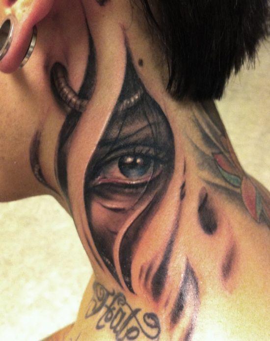 ebb1caad8 50 Amazing Biomechanical Tattoo Designs #biomechanicaltattoos  #biomechanicaltattoodesigns #tattoodesignideas