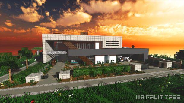Iron Elk House Minecraft World Save