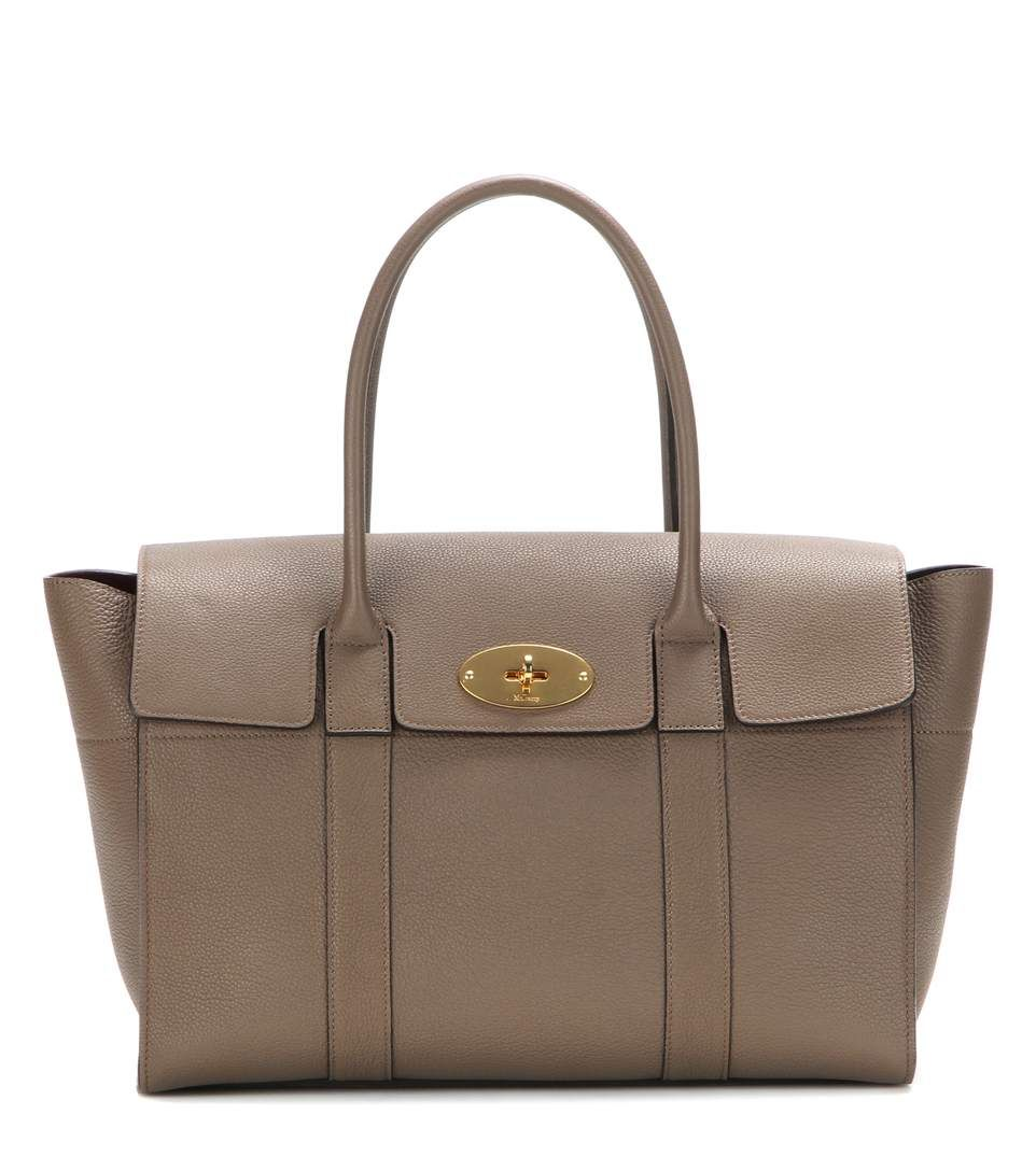 b1a9d6c011fb MULBERRY Bayswater Classic Leather Tote.  mulberry  bags  hand bags  suede   tote  lining
