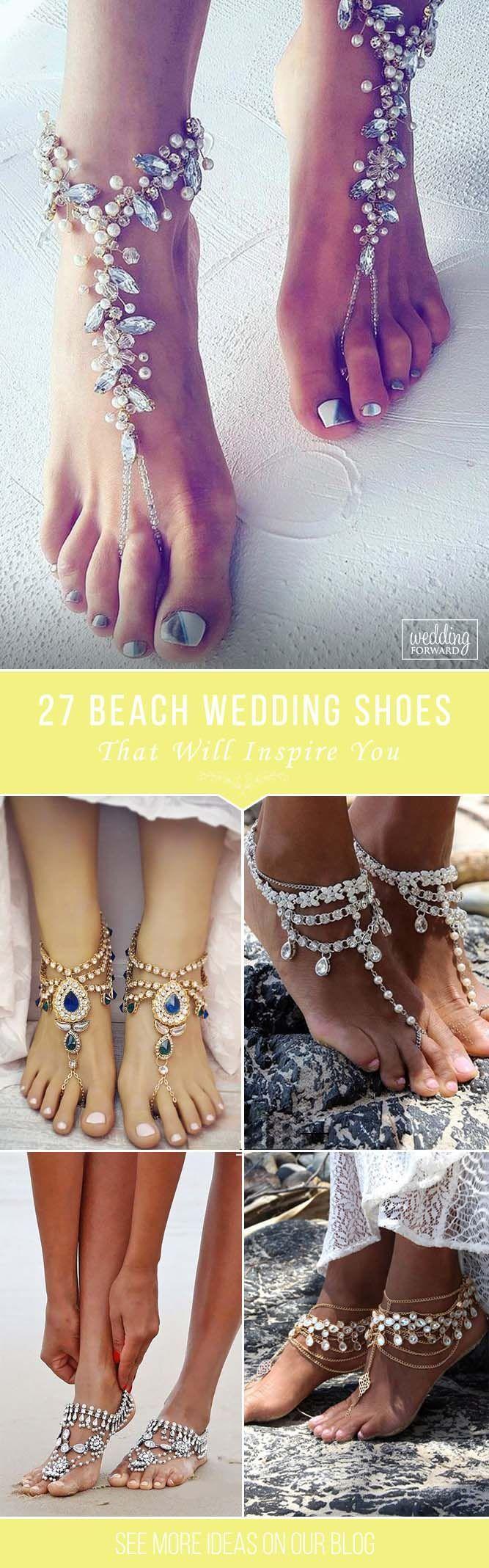 beach wedding shoes that inspire bohemian wedding dresses