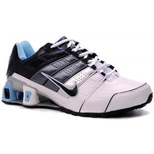 e107f95dbcf 365951 010 Nike Shox O Nine White Black Blue J06016