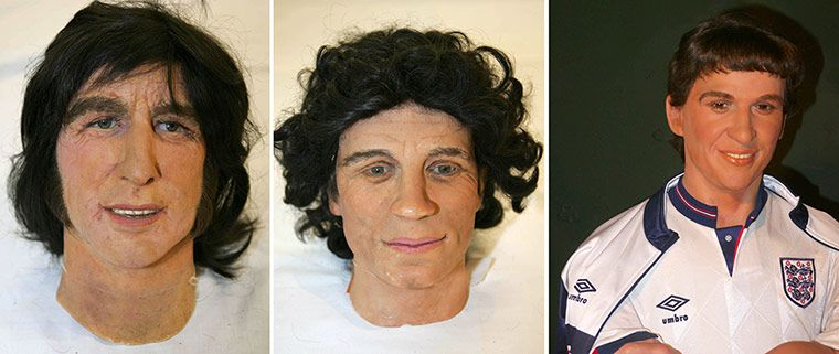sporting waxworks uncanny and terrible creations in pictures