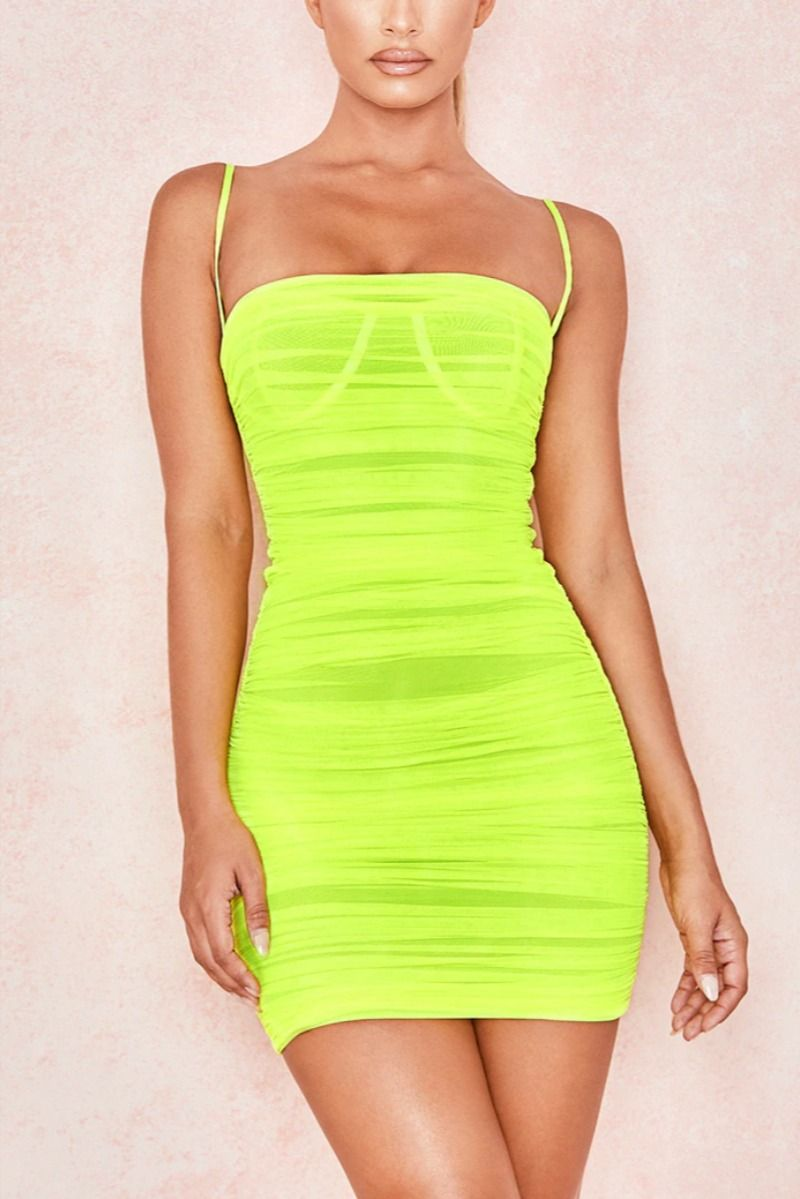 Mesh Bodycon Ruched Summer Dresses Ruched Bodycon Dress Bodycon Dress Bodycon Mini Dress [ 1199 x 800 Pixel ]