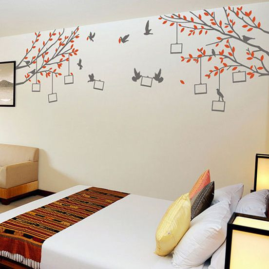 Try these small bedroom decorating ideas to give yours a bigger, brighter version of beautiful. 72 Wall Painting Ideas Wall Painting Diy Wall Painting Interior Wall Paint