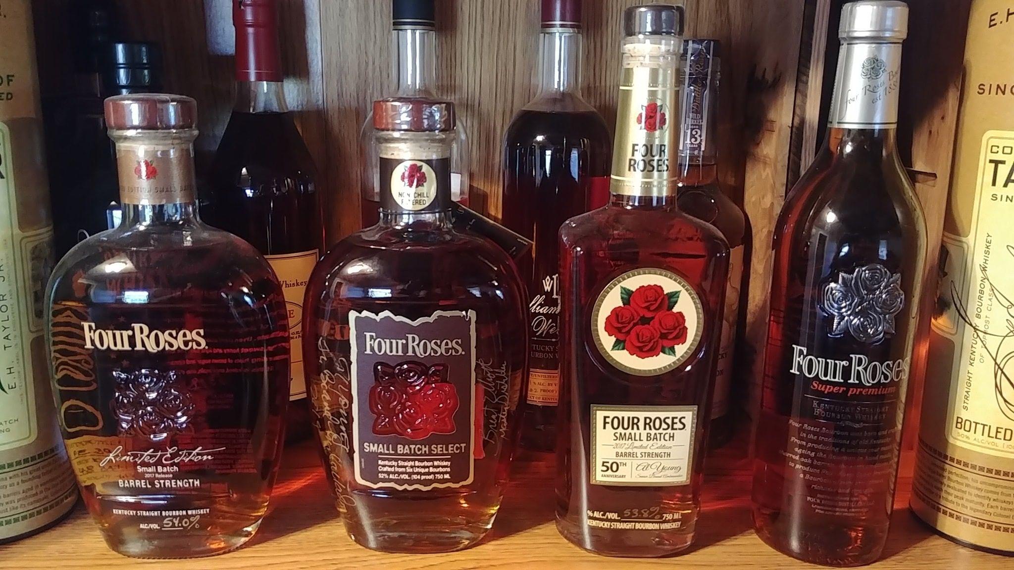 Four Roses Bourbon Booze Wine Bourbon Whiskey