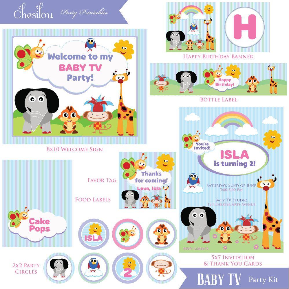 2 Charlie /& Lola Cumpleaños Banners Personalizados