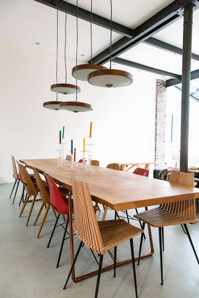 awesome Salle à manger - Salle à manger Loft Le Télécabine - table salle a manger loft