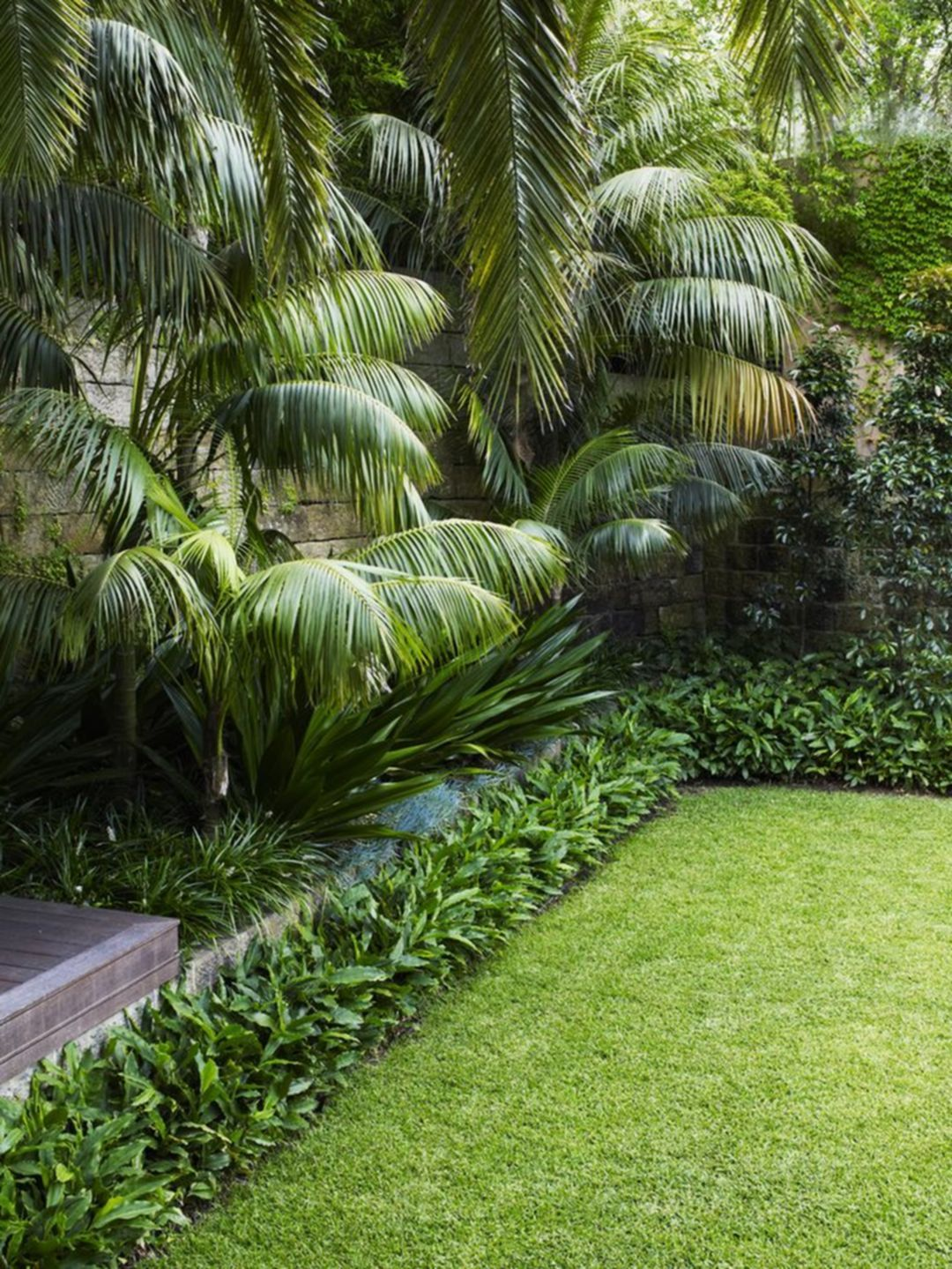 Incredible 25 Tropical Garden Design for Beautiful Garden ... on Tropical Small Backyard Ideas id=64090