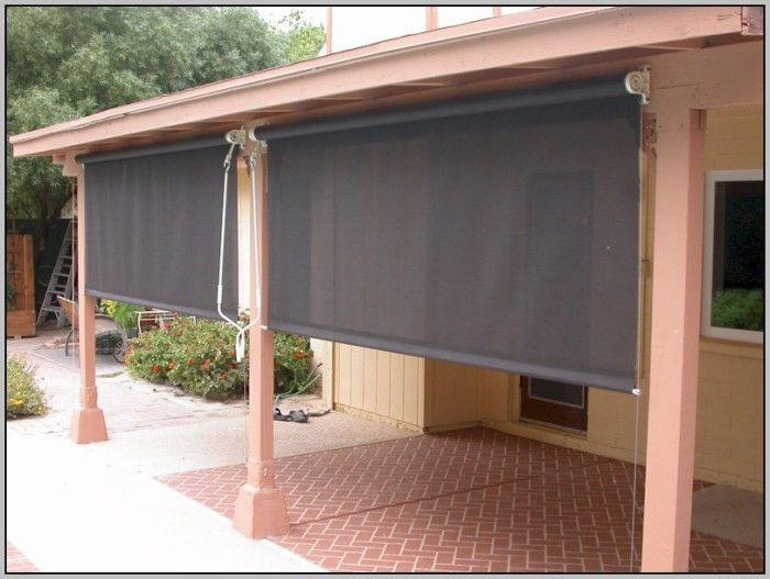 at home outdoor club canada depot bamboo forexlife blinds