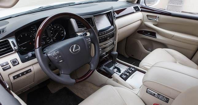Cool Lexus: Cool Lexus: 2015 Lexus LX 570 Interior... Lexus.