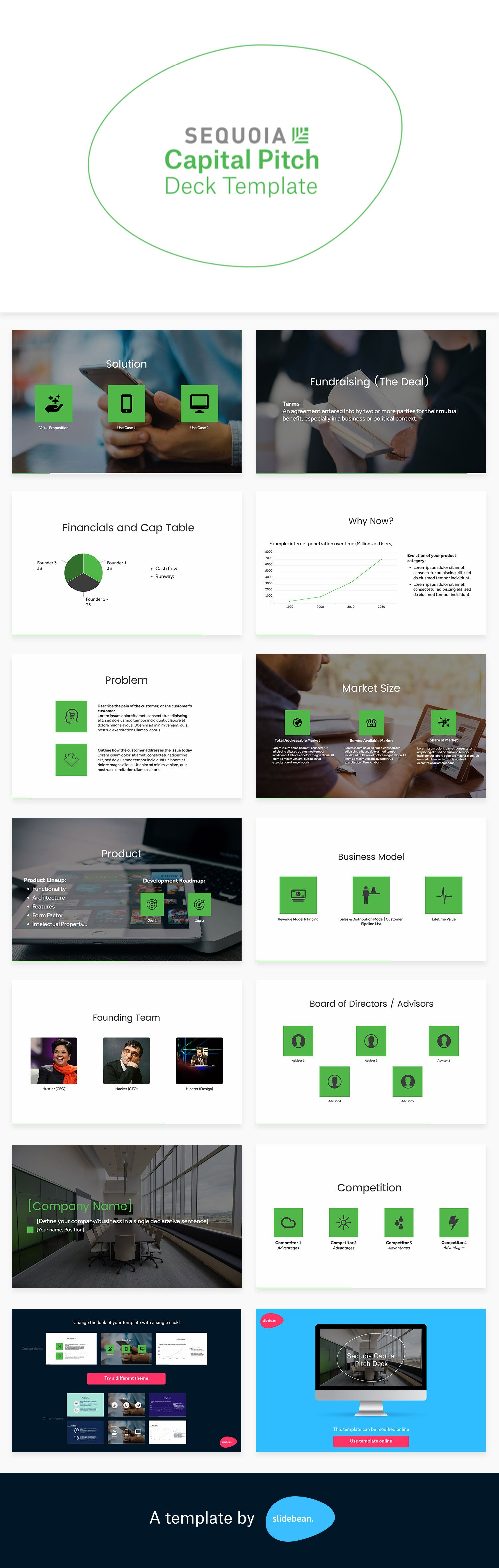 Sequoia Capital Pitch Deck Template Pitch Presentation Templates - Sequoia capital pitch deck template