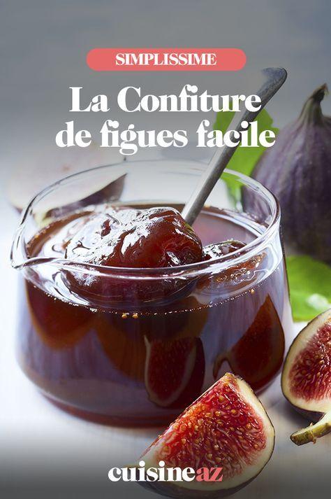 Confiture de figues facile | Recette en 2020 | Confiture de figues facile, Recette avec figues ...