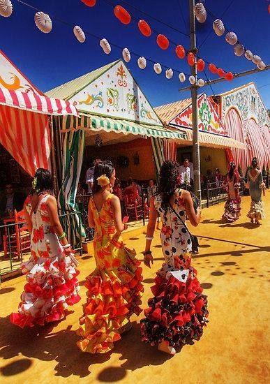 Flamenco Fiesta Viva La Vida V For Vintage Feria De Abril Sevilla Feria De Sevilla Cultura Española