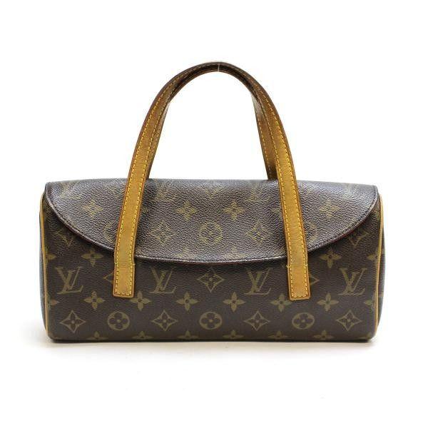 Louis Vuitton Sonatine  Monogram Handle bags Brown Canvas M51902
