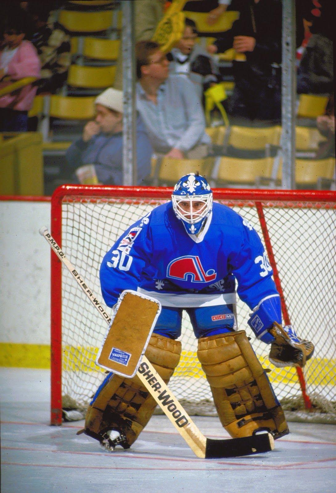 Clint Malarchuk Nordiques Avalanche Nhl Players Ice Hockey Hockey