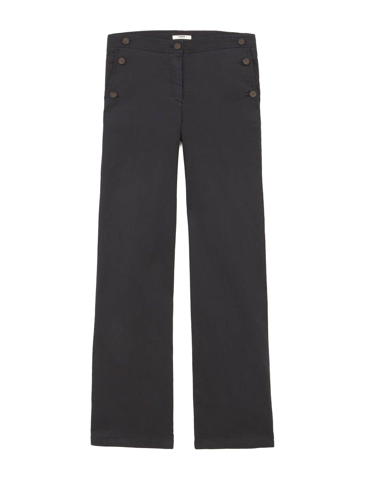 Rini Trousers in Navy in Navy  http://www.medwinds.com/store/esen/mujer/novedades/rini-trousers-in-navy.html?order==asc#