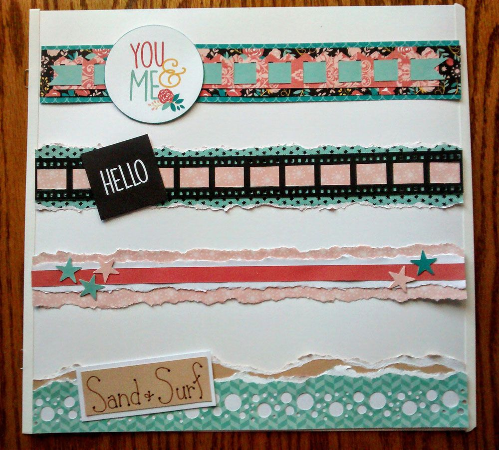 One direction scrapbook ideas - Project Ideas Other Goodies Using Creative Memories Film Strip Bubble Bordermaker Cartridges
