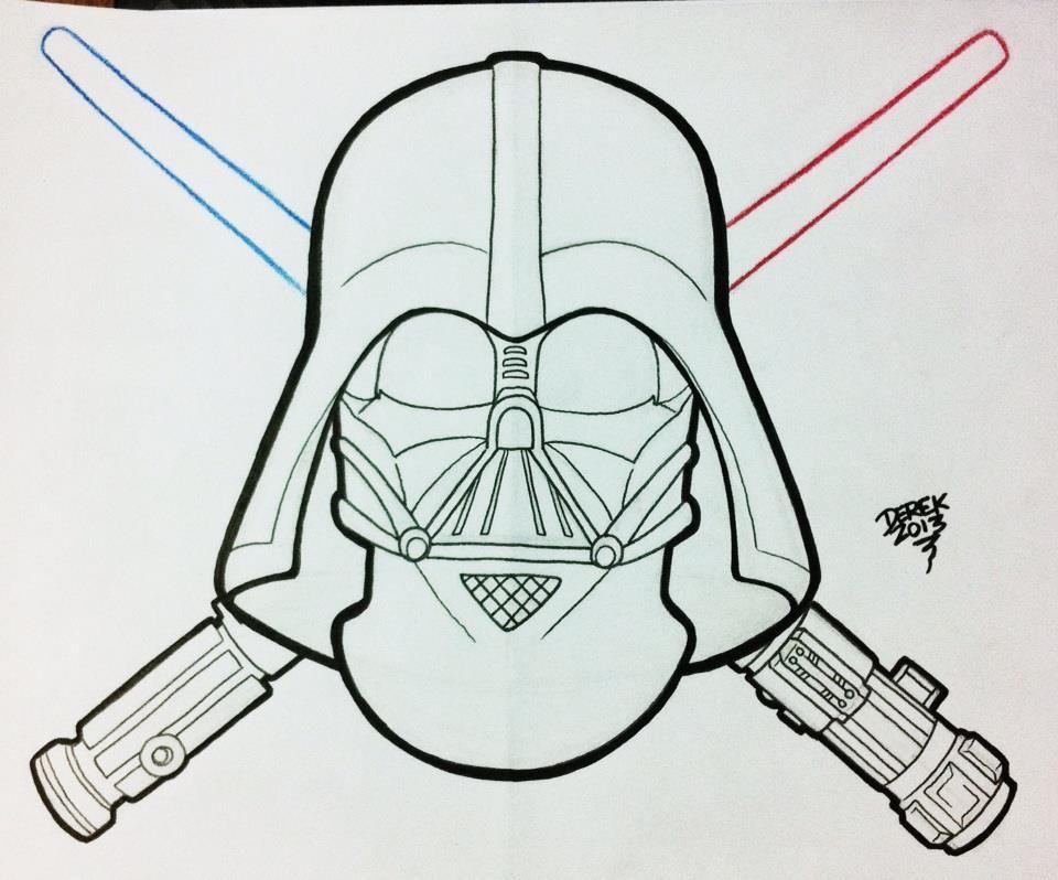 Derek Tattoo Star Wars Darth Vader Star tattoos, Star