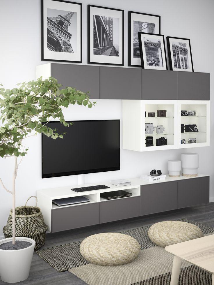 IKEA Deutschland Das BESTÅ kannst du individuell planen und - Wohnzimmer Ikea Besta