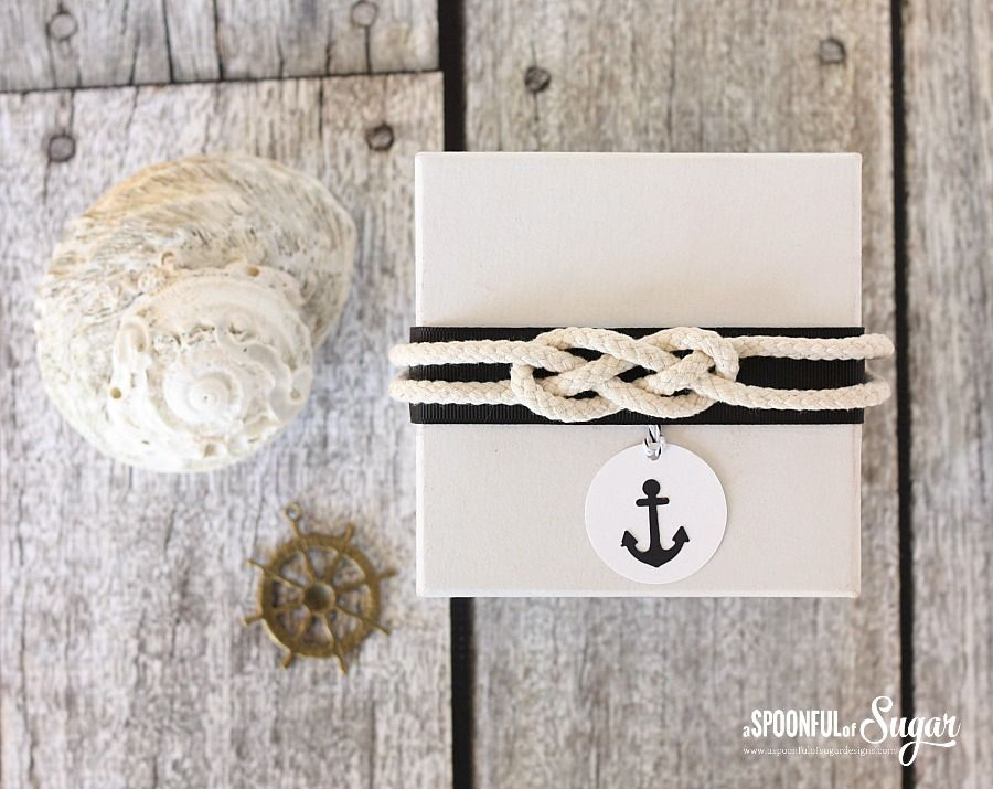 Nautical Gift Wrapping Ideas by A Spoonful of Sugar | Pretty ...
