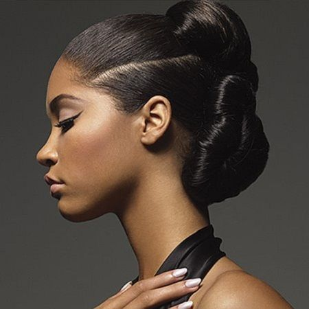 Bun Hairstyles For Black Women Ideas You Curl Black Hair Updo Hairstyles Black Wedding Hairstyles Romantic Hairstyles