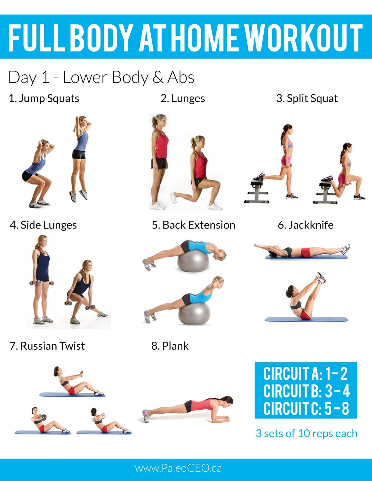 full body weightloss workout