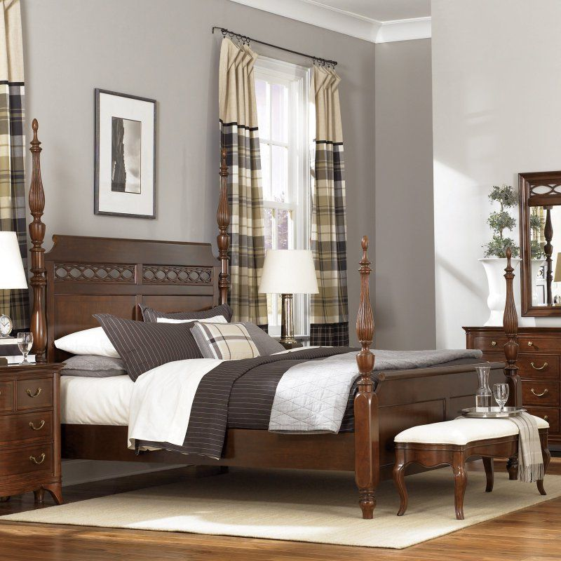 American Drew Cherry Grove Generation Poster Bed Set - ADL3789 Bed - Poster Bedroom Sets