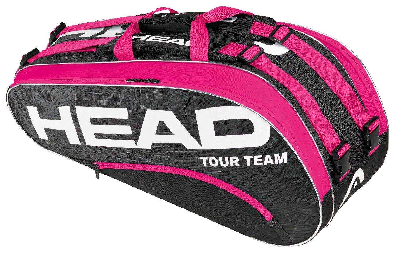 Head Tour Team Combi X6 Tennis Bag PINK/Black, Equipment ...