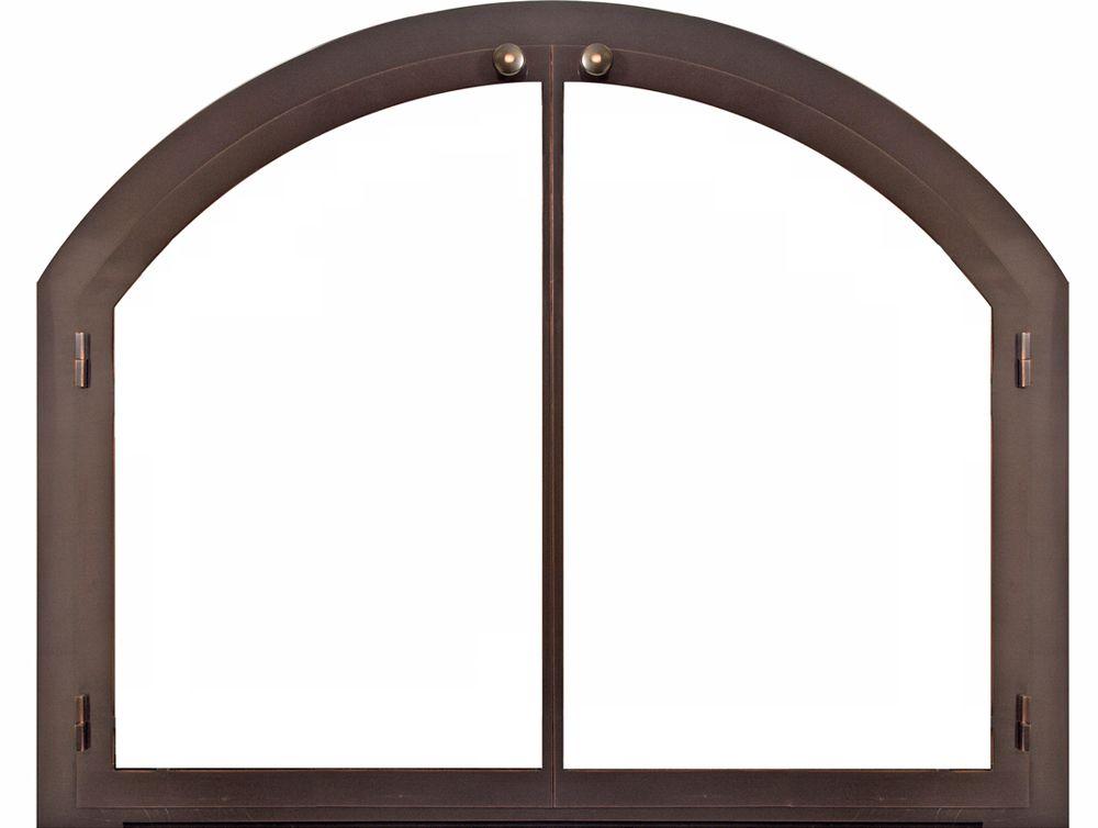 Legend Arch Vertical Stiles Masonry Door Design Specialties
