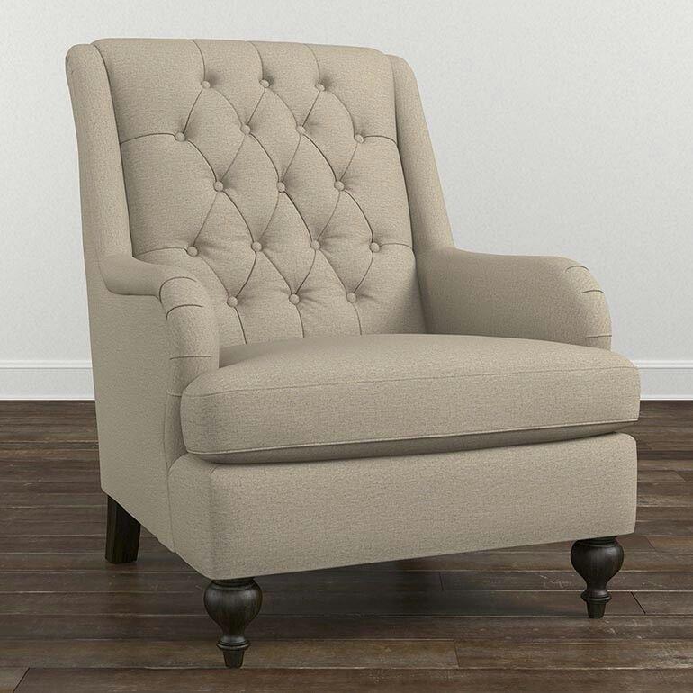 Best Bassett Gordon Accent Chair 32W X 39 5D X 41H Brown 640 x 480