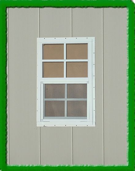 Small Shed Window For Outdoor Storage