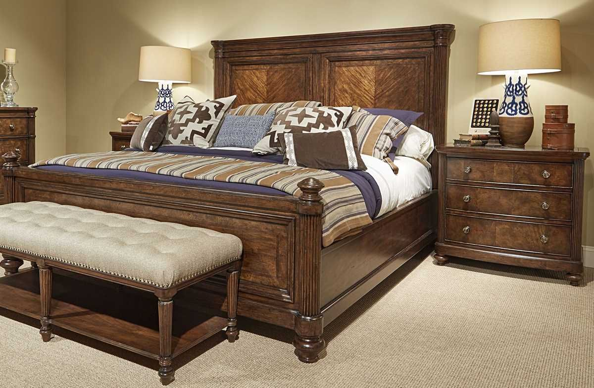Superieur Buy Legacy Classic Furniture Barrington Farm 2 Piece King Bedroom Set In  Walnut On Sale Online