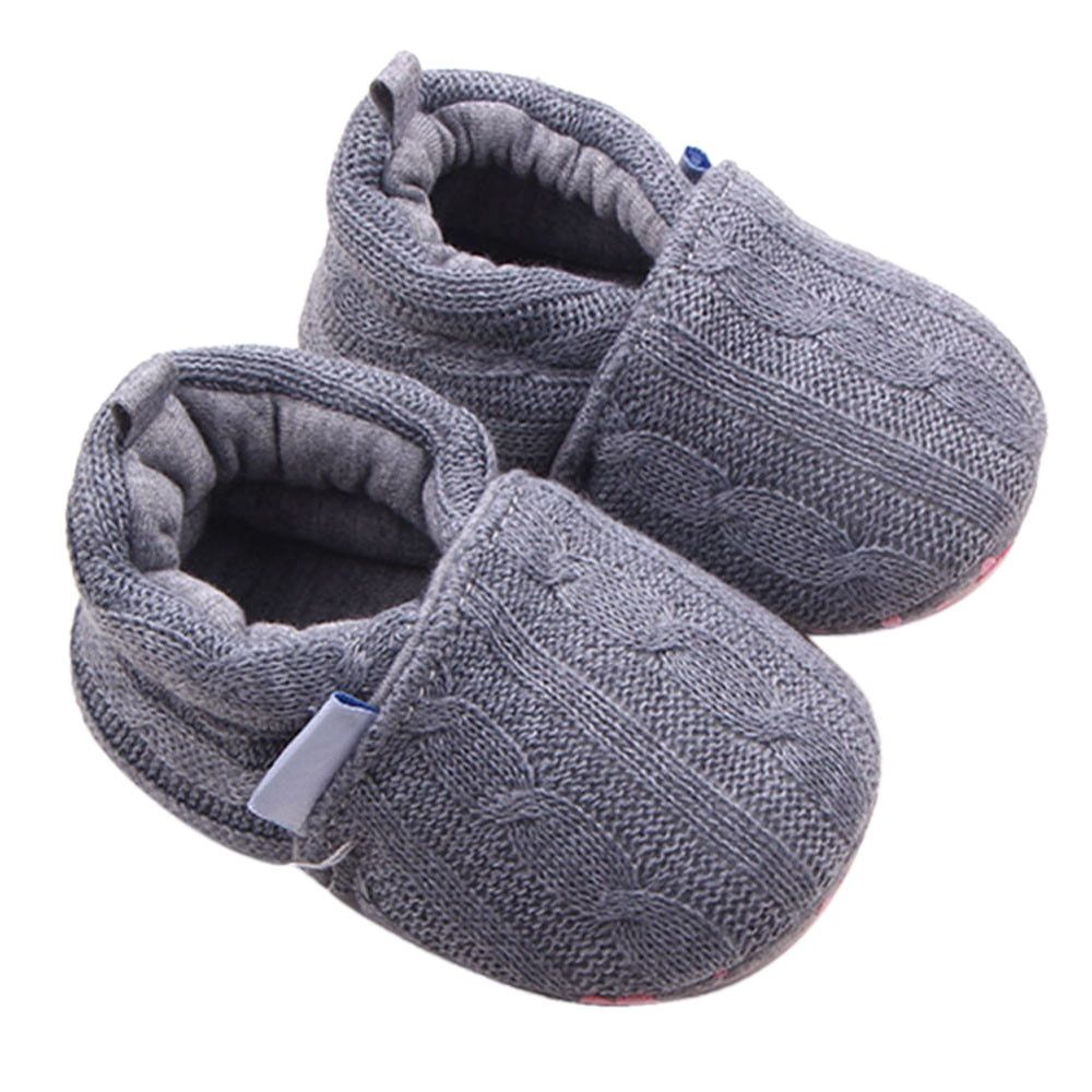 81f540685b329 Newborn Baby Shoes Baby Anti-slip Soft Sole Shoes Baby Girls Shoes ...