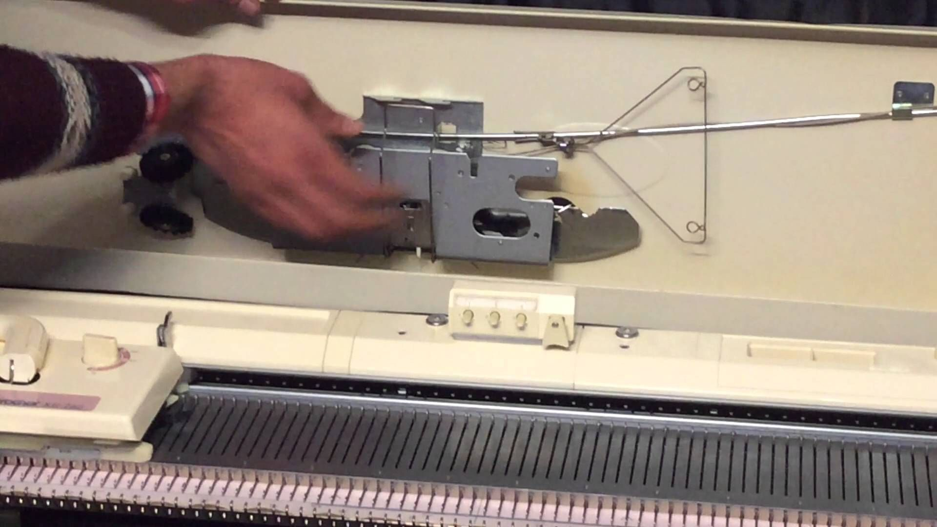 Welcome everyone this video is all about how to setup a brother welcome everyone this video is all about how to setup a brother chunky kh 260 knitting machine the elvis presley of brother knitting machines lol bankloansurffo Images