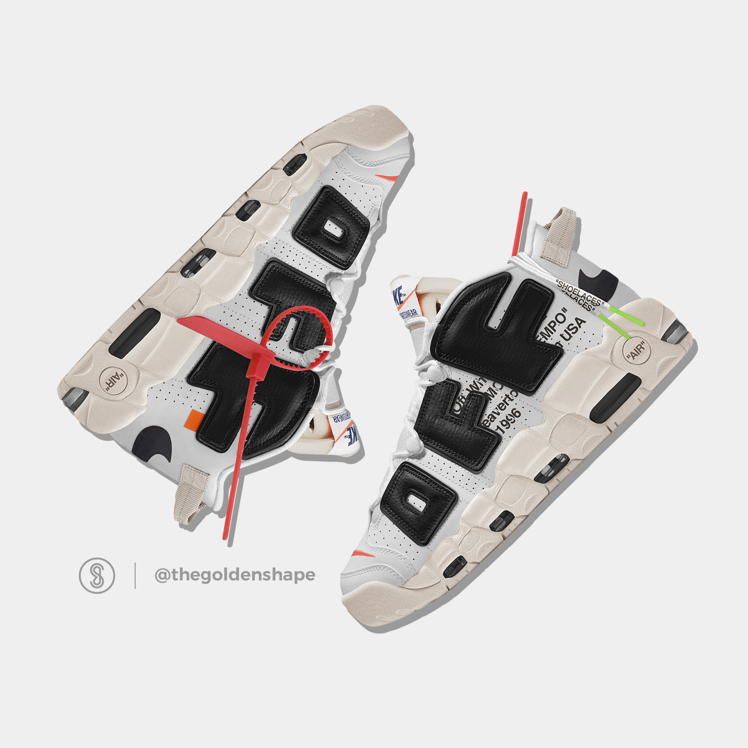 separation shoes 3279d 39a37 Off-White x Nike Air More Uptempo The Twelve