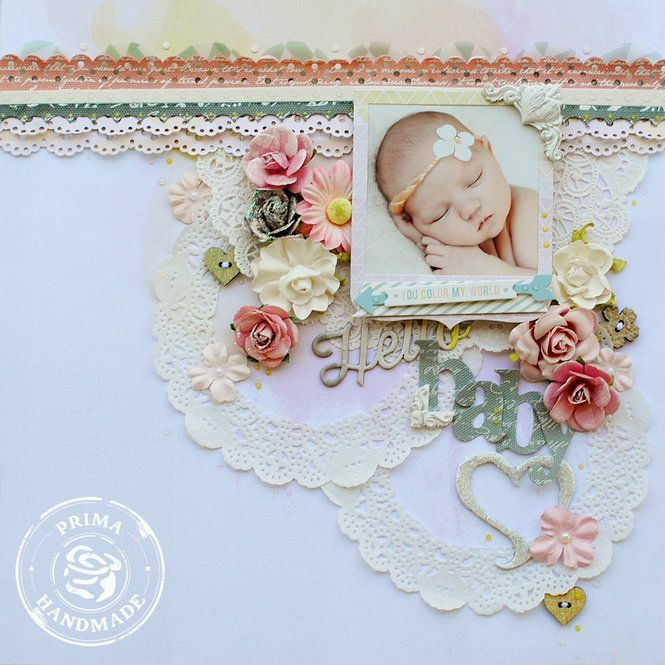 Baby Themed Scrapbook Layouts 12x12 Layouts Scrapbooking Ideas