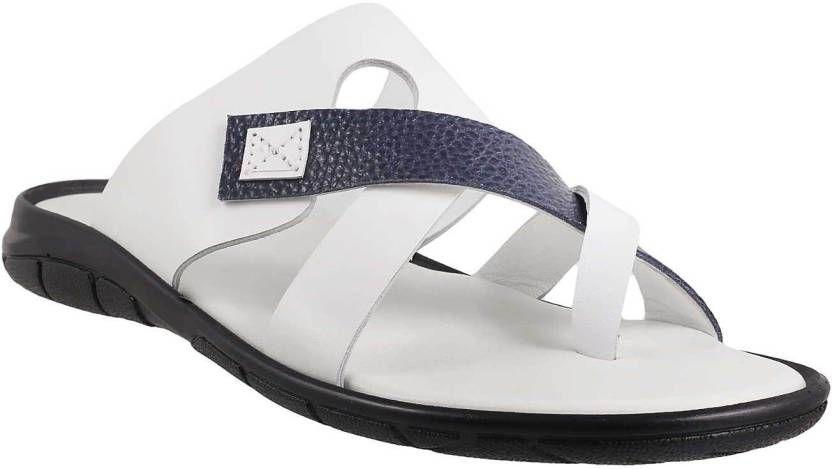 Metro Men White, Blue Sandals - Buy 56